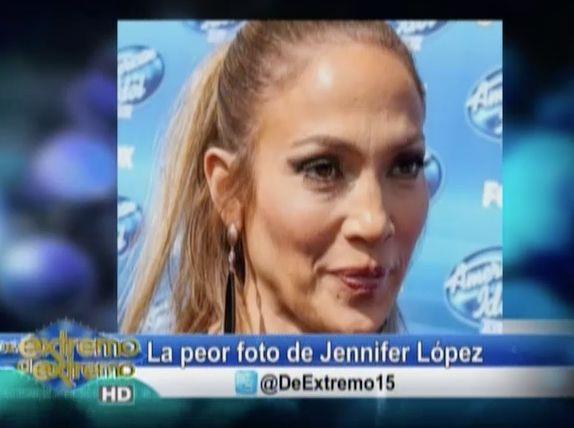 Farándula Extrema: La Peor Foto De Jennifer Lopez #Video