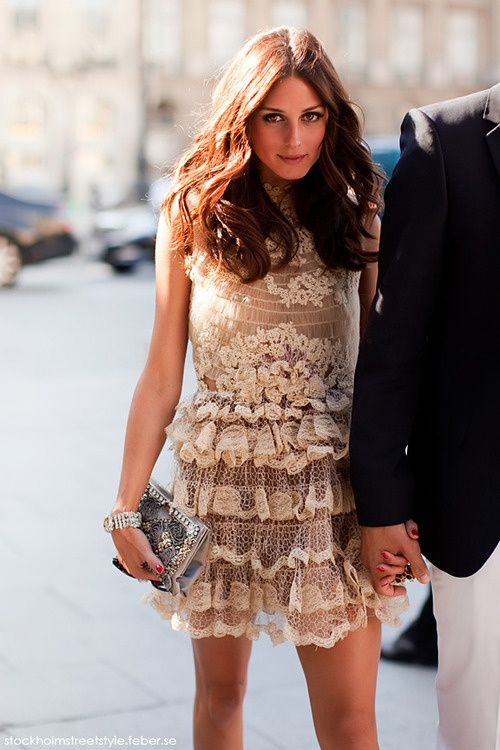 Amazing dress. Amazing legs.