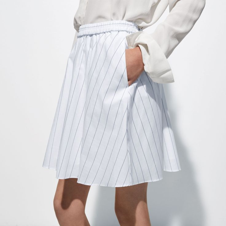 FWSS Class Historian is a lightweight, flared cotton skirt with elastic waist detail.