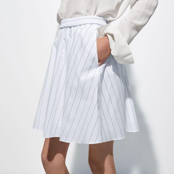 FWSS Class Historian is a lightweight, flared cotton skirt with elastic waist detail.