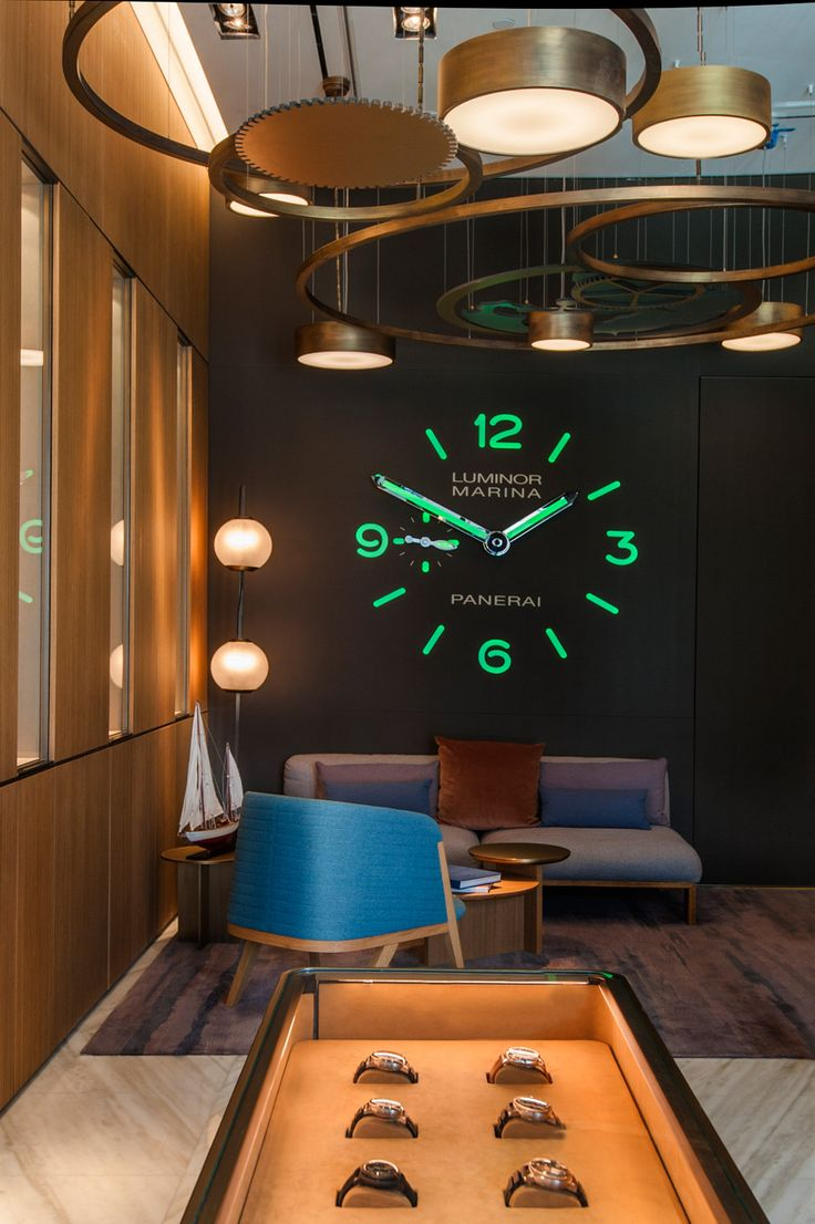 Patricia Urquiola's Miami Panerai shop was inspired by watches