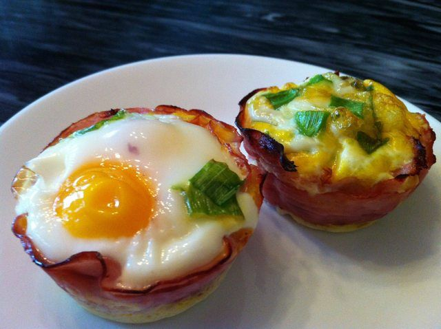 Eggs and Ham Cups