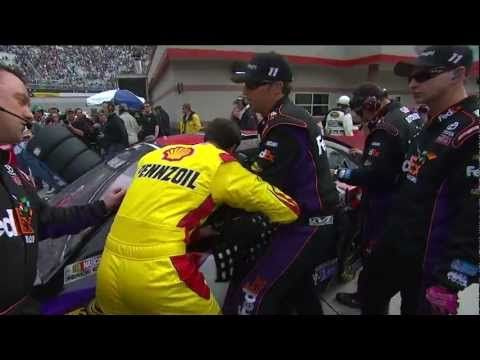 nascar news fight