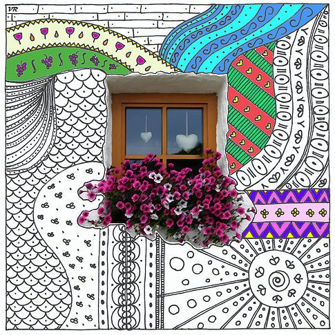 Colouring Sketches_Free Download on Miss Taste and Wine_South Tyrol