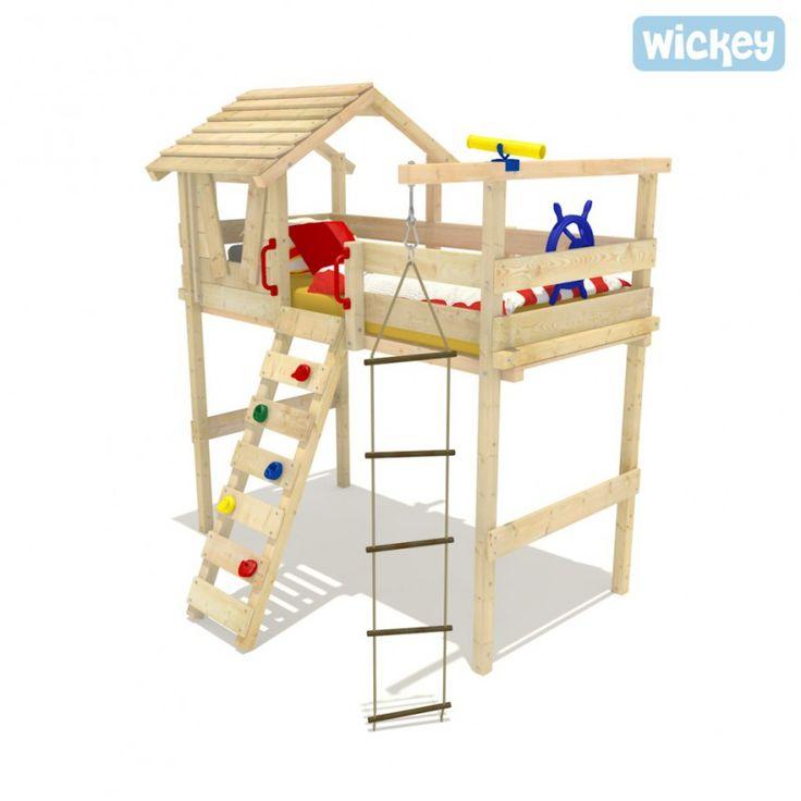 44 best camas altas images on pinterest child room bunk - Camas infantiles altas ...