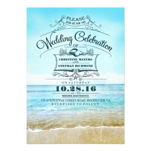307 Best Destination Wedding Invitations Images On