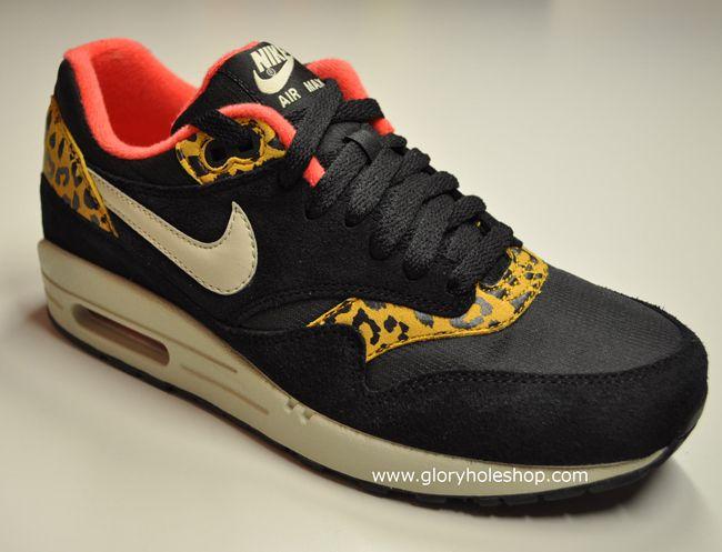 Nike WMNS Air Max 1   Black Leopard