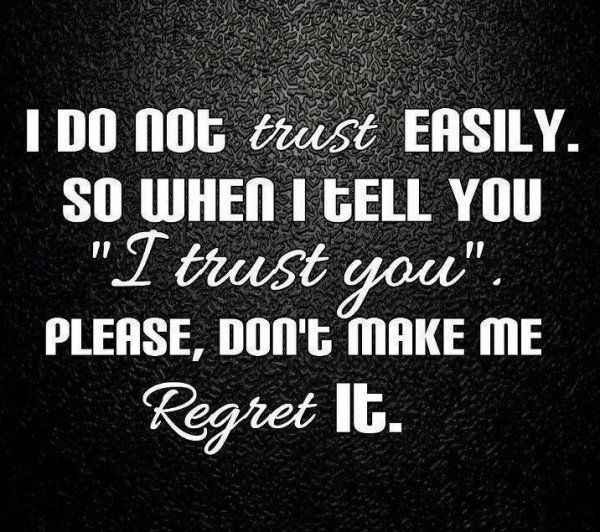 Why Not To Trust Men: 17 Best Trust Quotes Funny On Pinterest