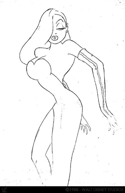 Living Lines Library: Who Framed Roger Rabbit (1988) - Character Design