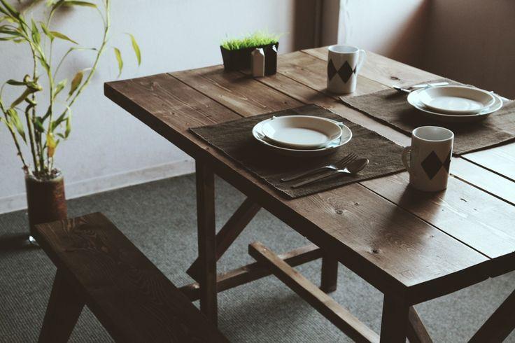MaKeT DINING SET ¥31,800〜 / デザイン家具のDIYキットストア MaKeT(マケット)