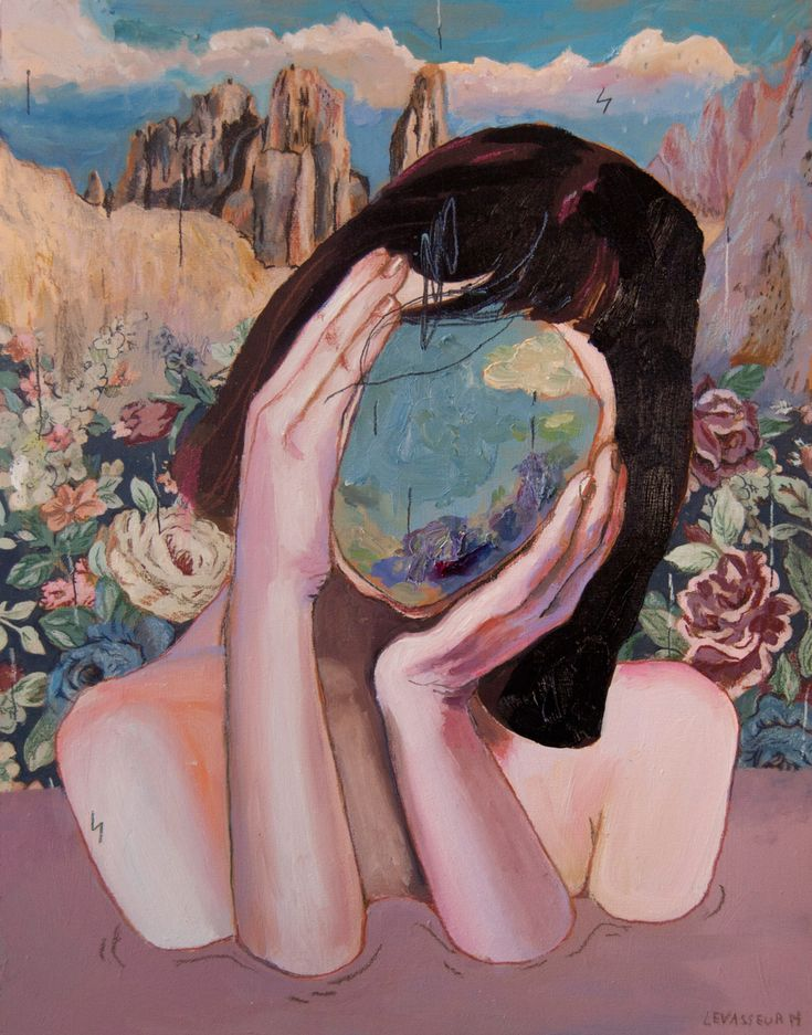 Sensitivity as Strength in Dreamy Paintings by Alexandra Levasseur. http://illusion.scene360.com/art/98159/alexandra-levasseur/