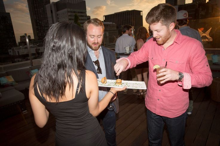 Trusties enjoying themselves as the NYC summer party