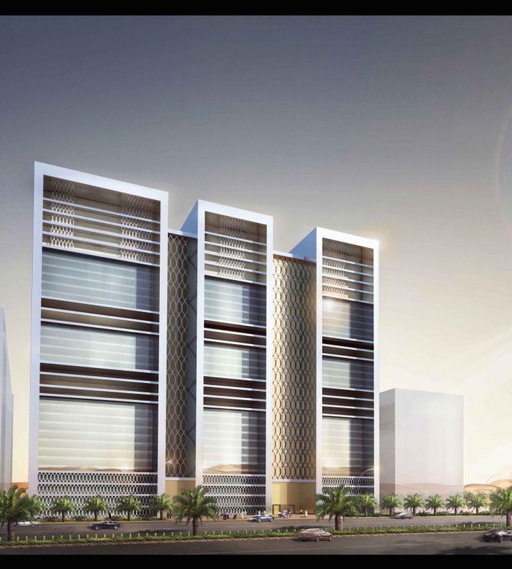 Architectural Illustration | Abu Dhabi | 2013 Design by BAE