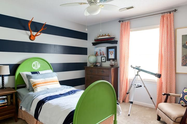 House Tour: A Colorful 90s Ranch South Carolina Home | Apartment Therapy