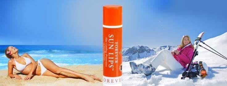 Var snäll mot din hud - du har bara en. Sun lip spf30. www.myaloevera.se/johanbystrom #forever #aloevera #lipstick