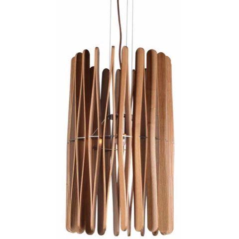 Raglan Ash Wood Pendant Light