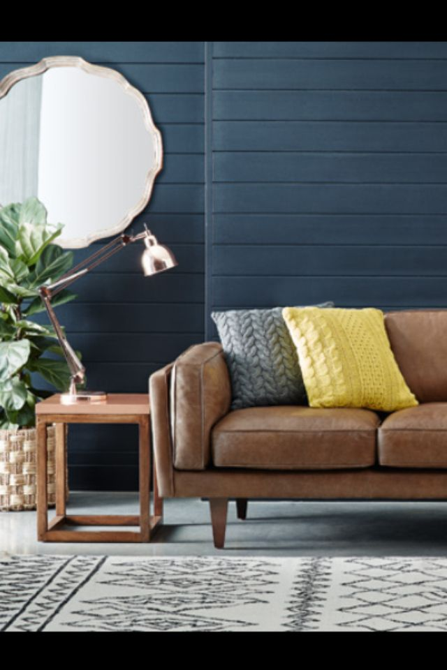 Leather - beautiful Freedom lounge