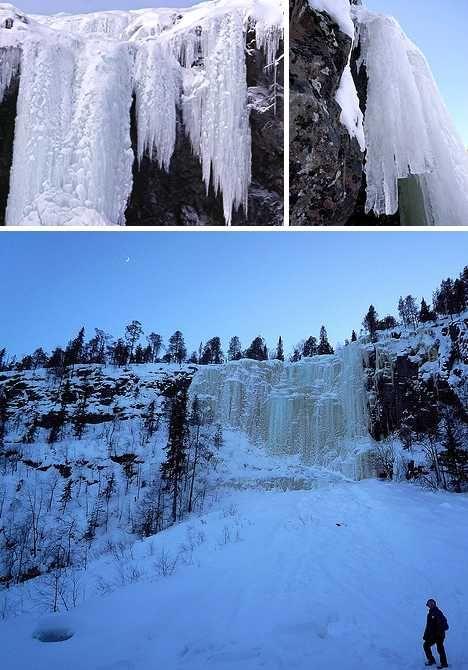 Kitsiputous Falls, Finland
