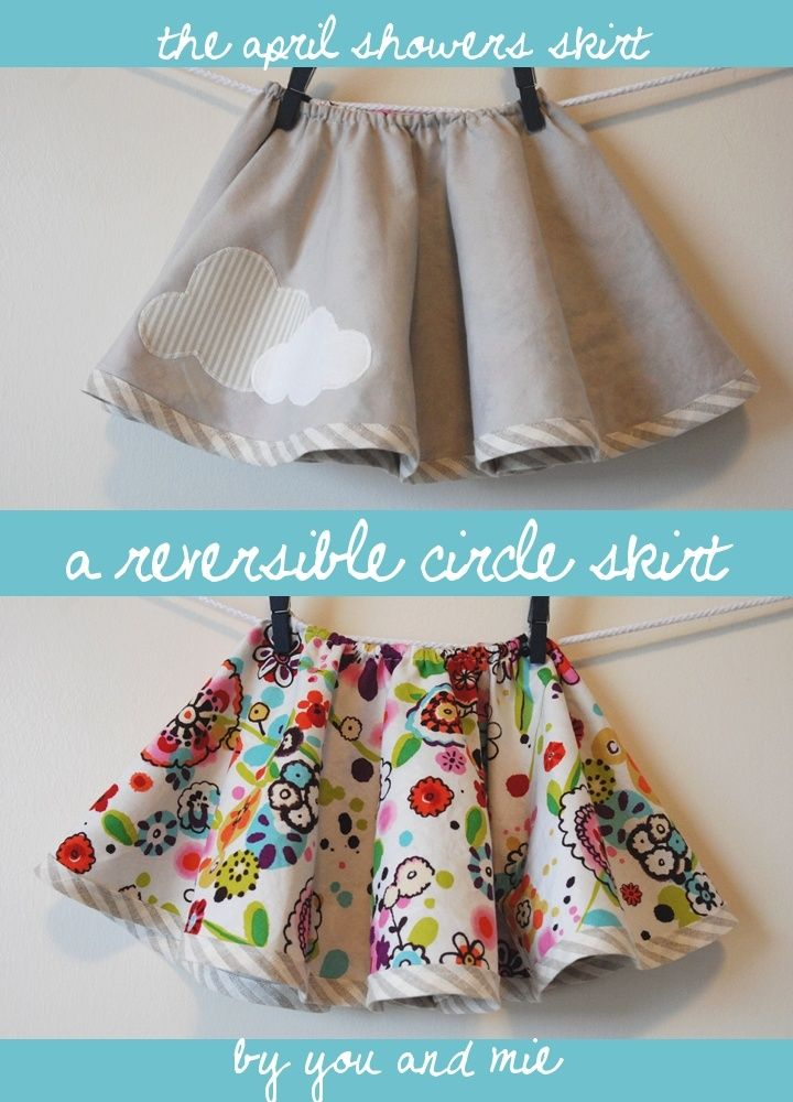 a reversible circle Skirt...tutorial