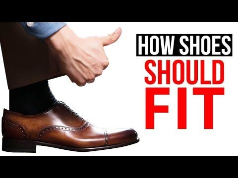 Many men consider dress shoes synonymous with discomfort. You probably developed the association as a kid: Dressing up meant pinched toes and sore heels. But it doesn't have to be that way. Dress shoes should fit so well, you barely notice them. About 80% of men are wearing the wr