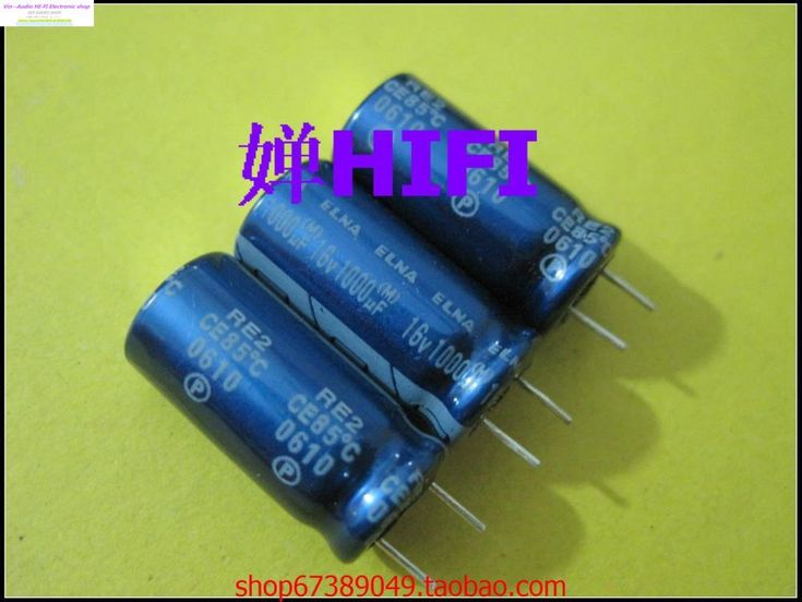 2015 Supercapacitor Capacitors 50pcs Japan Elna Ina Re2 Blue Robe For Electrolytic Capacitor 16v1000uf 10x20mm Free Shipping //Price: $14.70//     #electonics
