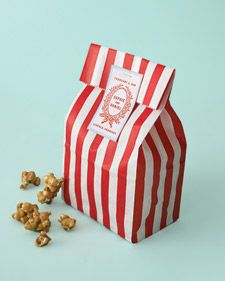 Caramel and Fleur de Sel Popcorn - Martha Stewart Weddings Planning & Tools