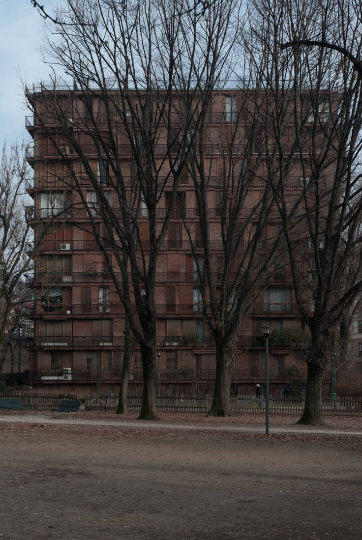 Wohnhaus Via Andrea Massena, Mailand, Luigi Caccia Dominioni, 1963