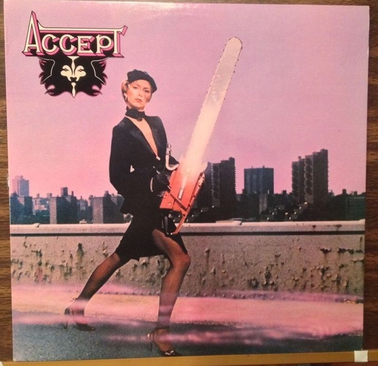 Accept / Self Titled / 1979 PVC JEM Release / RARE / 12 ...