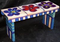 #FlowerShop  for stool