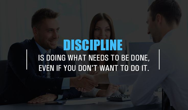 #Discipline is doing what needs to be done, even if you don't want to do it. http://www.networkmarketingpaysmebig.com/