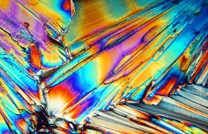 If you view Epsom salt crystals through a microscope, you can see a rainbow of colors. - Images Etc Ltd, Getty Images