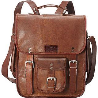 David King Leather 327 Laptop Backpack Tan   Overstock.com Shopping - The Best Deals on Laptop & Tablet Cases
