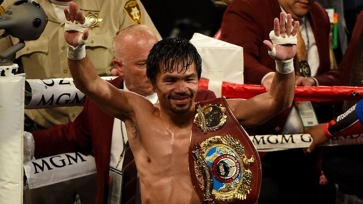 Pacquiao vs. Bradley 2016 results: Manny Pacquiao wins reported final fight, and couldn't ask for more - SBNation.com