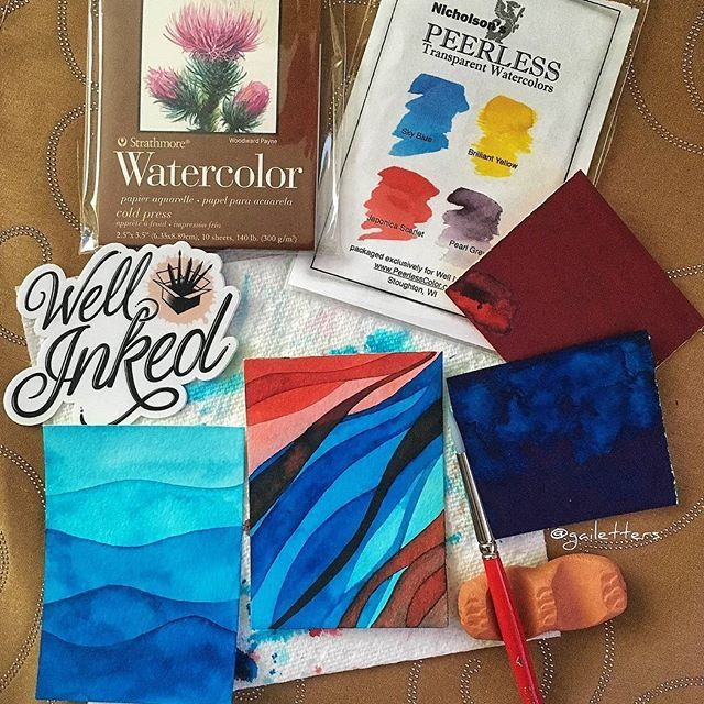 How did Well Inked Box come about?   Well Inked Box is a passion project! Chelsea and I are both creative and love trying out new supplies (and getting things in the mail!) Whenever we meet up we are testing out each other's pens and sharing reviews on notebooks, paints, brushes, and what...