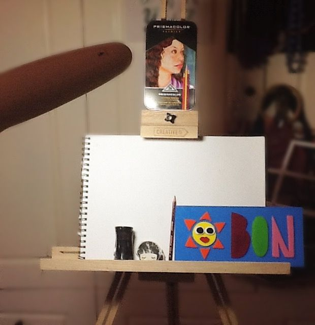 about to start drawing!! :)