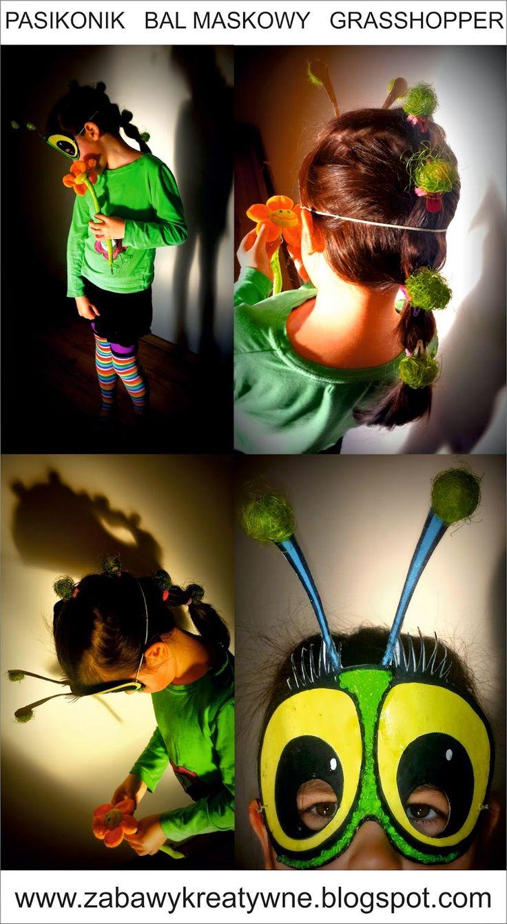 Zabawy kreatywne: Bal maskowy - pasikonik