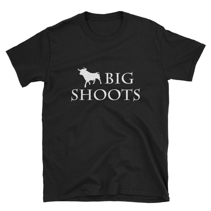 Time for a new shirt, Big Shooter. #etsy shop: Letterkenny Big Shoots white or maroon font Short-Sleeve Unisex T-Shirt http://etsy.me/2DTaucK #clothing #shirt #letterkenny #canada #bigshoots #bigshooter #supershoots #sarcastic #longhorn