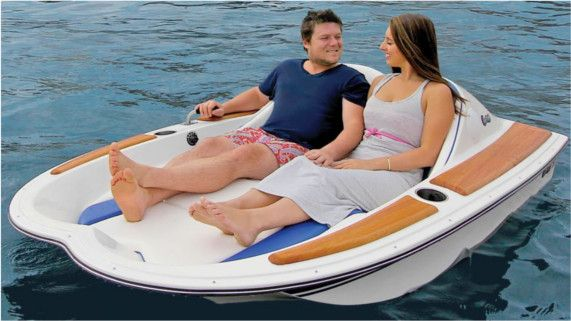 Electric Boat for two - yes please!