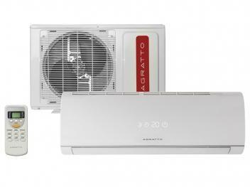 Ar-Condicionado Split Agratto 9.000 BTUs Frio - Confort One ONE9F - Olha o calor chegando. Aliás, já chegou. Clique na imagem do produto e compre conosco.