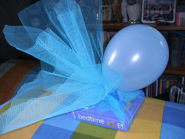 A Different Way Of Wrapping Gift This Is Book For One Year Old Boy