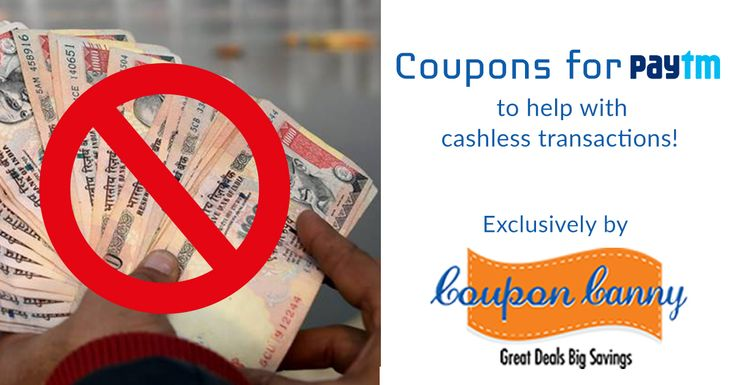 No cash No problem! Use @Paytm instead!  Here are some awesome coupon codes you can use to shop better with #CouponCanny + #Paytm. Visit: http://www.couponcanny.in/paytm-coupons/