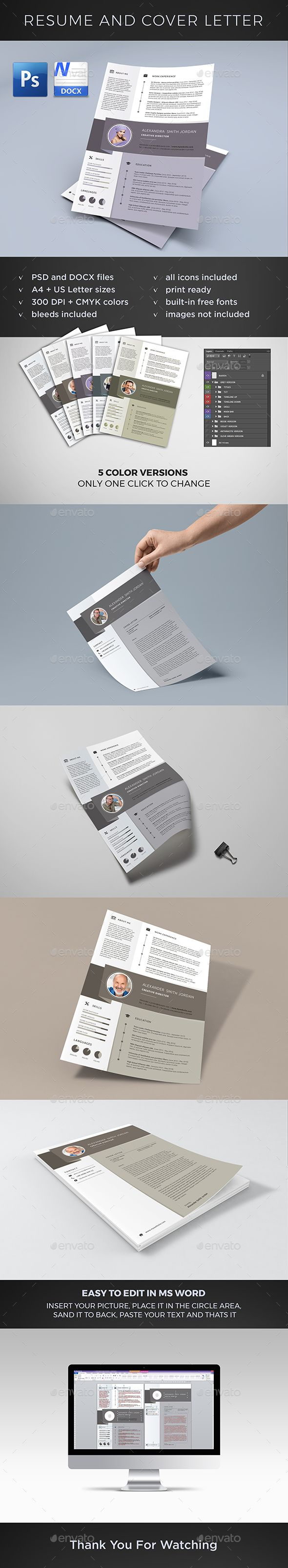 cover letter templates microsoft word%0A Resume and Cover Letter Template