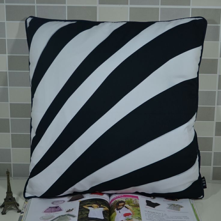 83 best Black & White Cushion Cover images on Pinterest