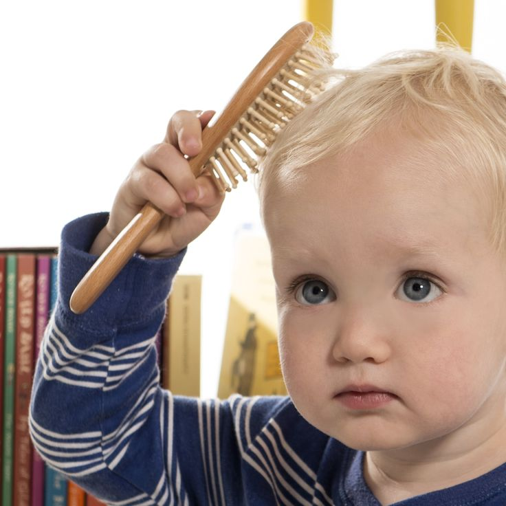 Natural Wooden Hair Brush & Comb Set