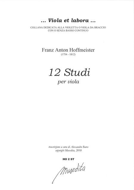 Viola Studies (Leipzig, inizio XIX sec.)