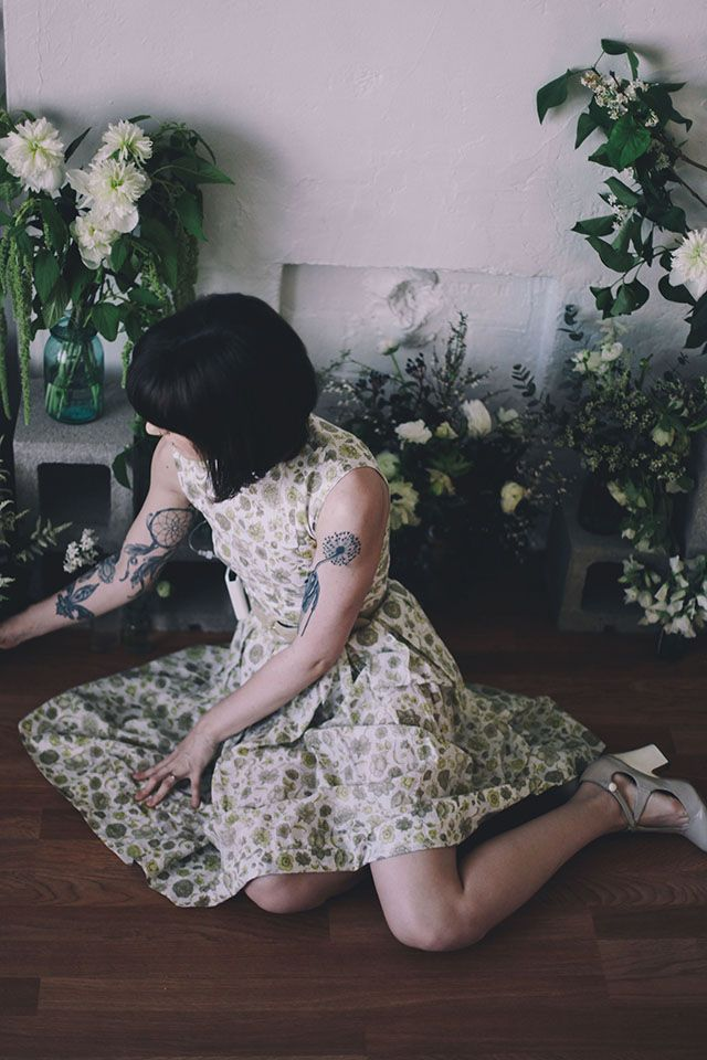 Finch & Fawn : All of the flowers - p a r t 1