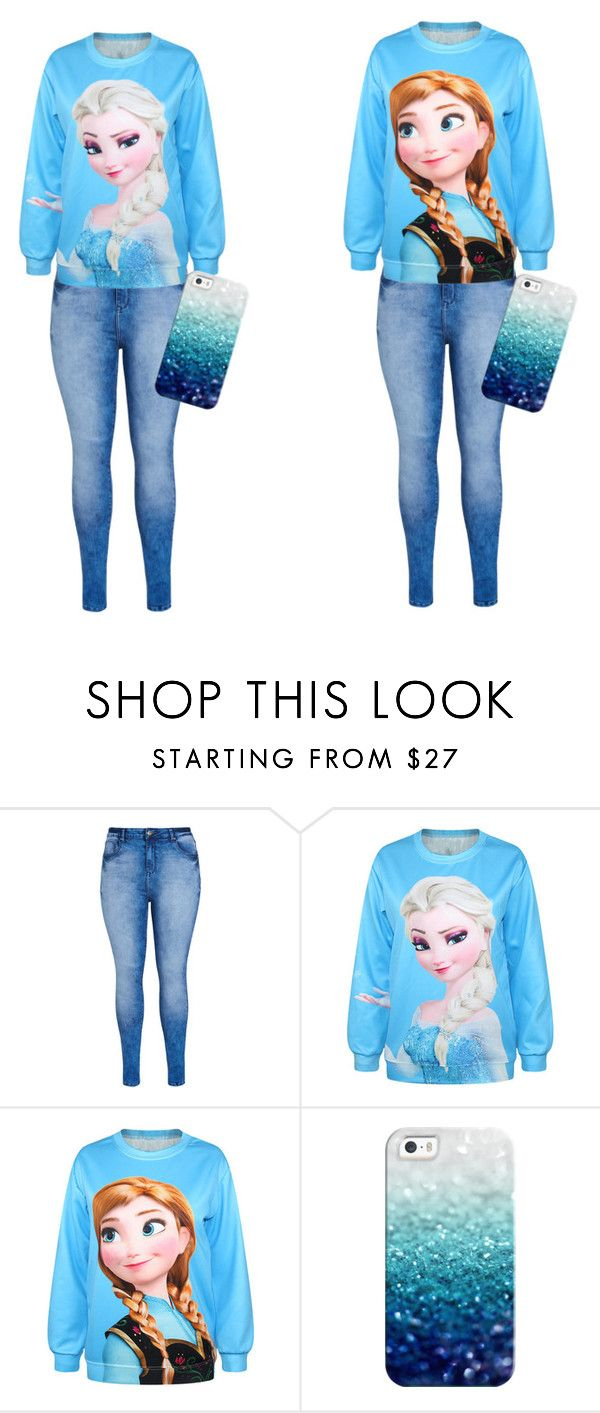 """""""sister 3"""" by emy-belle on Polyvore featuring mode, City Chic et Casetify"""