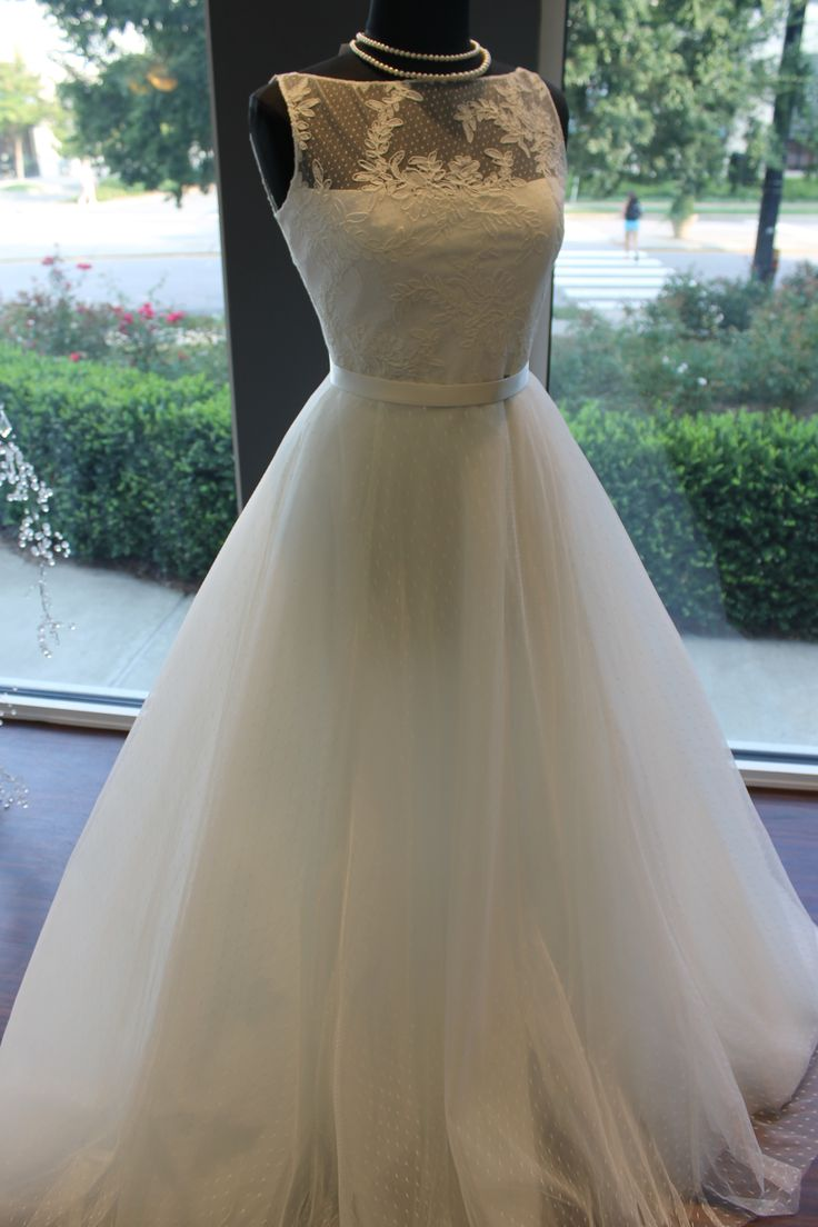 78 best images about dotted swiss on pinterest lace for Dotted swiss wedding dress