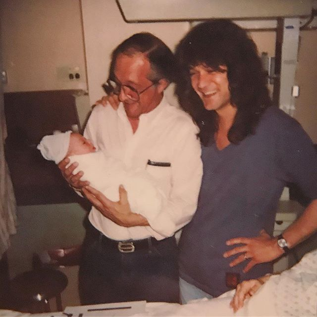 """Wolfgang Van Halen """"My grandfather, Andrew Bertinelli passed away this morning. He was the only grandfather I ever knew and I'm going to miss him greatly. I love you, Nonno. Thank you for everything."""""""