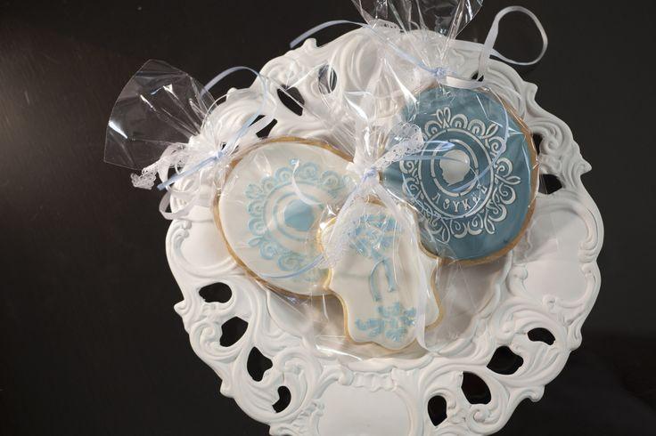 Custom made cookies to match invitation
